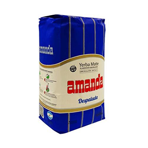 Yerba mate Amanda Azul despalada 1Kg