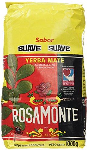 Yerba mate Rosamonte Suave 1Kg